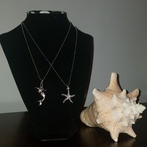 Other - ❤Girls starfish necklace & mermaid necklace❤